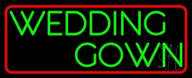 Wedding Gown Neon Sign