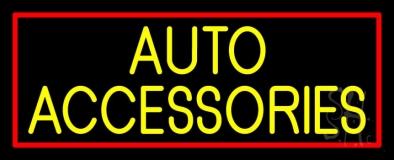 Auto Accessories Block 1 Neon Sign