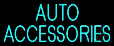 Auto Accessories Block Neon Sign