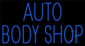 Auto Body Shop 1 Neon Sign