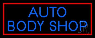 Auto Body Shop 2 Neon Sign