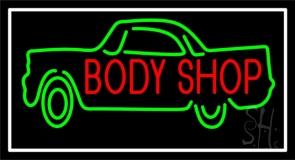 Body Shop Car Logo 1 Neon Sign