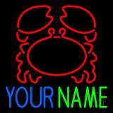 Custom Crab Name LED Neon Sign