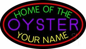 Custom Oyster Neon Sign