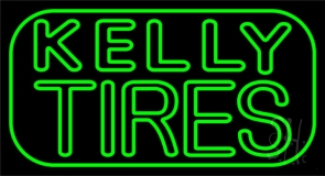 Kelly Tires Neon Sign