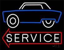Car Logo Service 1 Neon Sign