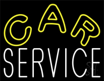 Car Service Neon Sign