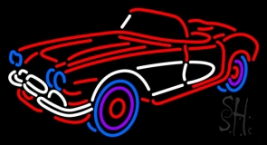Classic Car Neon Sign