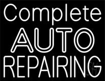 Complete Auto Repairing Neon Sign