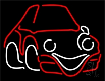 Mini Car Logo Neon Sign