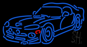 Sports Car Neon Sign