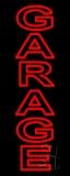 Vertical Double Stroke Garage Neon Sign