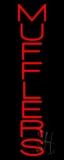 Vertical Muffler LED Neon Sign