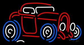 Vintage Car LED Neon Sign