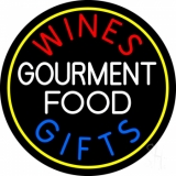 Wines Food Blue Gifts LED Neon Sign
