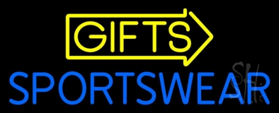 Yellow Gifts Sportswear LED Neon Sign
