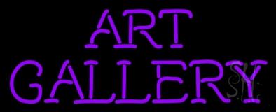 Art Gallery Neon Sign