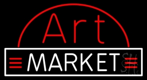 Art Market Neon Sign