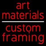 Art Materials Custom Framing Neon Sign