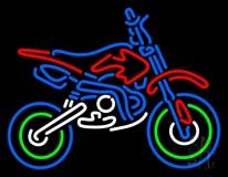 Bike Logo Neon Sign