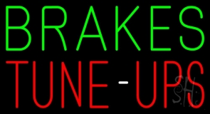 Brakes Tune Up  Neon Sign
