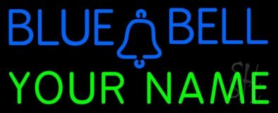 Custom Blue Bell Neon Sign
