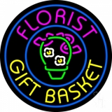 Florist Gifts Baskets Logo LED Neon Sign