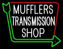 Mufflers Transmission Shop Neon Sign