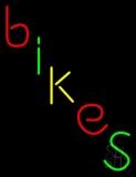 Multicolored Bikes Neon Sign