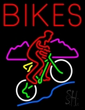 Red Bikes With Logo Neon Sign