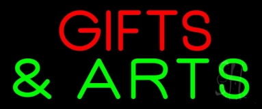 Gifts And Arts Block LED Neon Sign