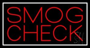 Red Smog Check 1 Neon Sign