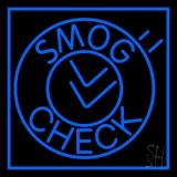 Smog Check Circle Neon Sign