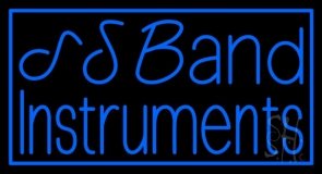 Blue Band Instruments Neon Sign