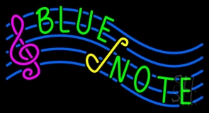 Blue Note Neon Sign
