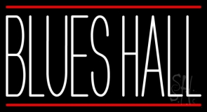 Blues Hall 1 LED Neon Sign