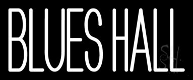 Blues Hall 2 LED Neon Sign