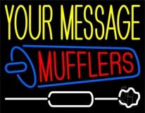 Custom Mufflers 2 Neon Sign