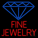 Fine Jewelry Block Neon Sign