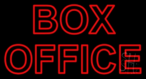 Red Box Office Neon Sign