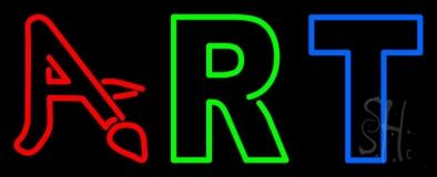 Multi Color Art 3 Neon Sign