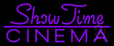Showtime Cinema LED Neon Sign