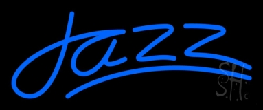 Blue Jazz Line 2 Neon Sign