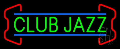 Green Club Jazz Block 2 Neon Sign