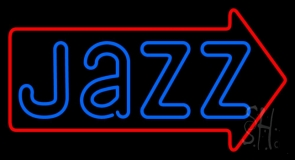 Jazz With Red Border Neon Sign