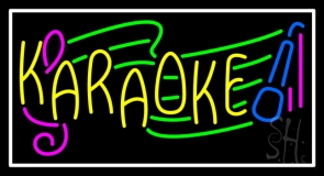 Karaoke 1 Neon Sign