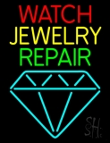 Watch Jewelry Repair With Logo Neon Sign