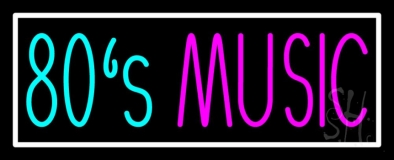 80s Music 1 Neon Sign