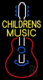 Childrens Music 1 Neon Sign