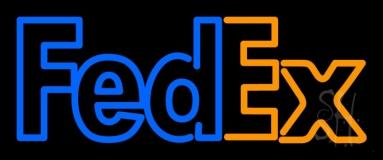 Fedex Logo Neon Sign
